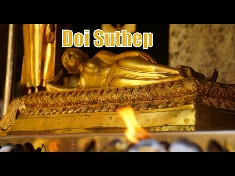 Visiting Wat Phra That Doi Suthep Temple in Chiang Mai, Thailand