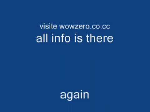 WoW ZerO private server! 3.2.2a with WOTLK