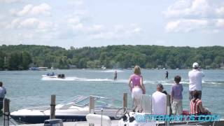 Grand City Show Skiers at Tommy's Marina in Walloon Lake. Video supplied by Tommy's.