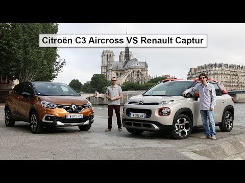 vid o citro n c3 aircross vs renault captur quel est le meilleur suv urbain l 39 argus. Black Bedroom Furniture Sets. Home Design Ideas