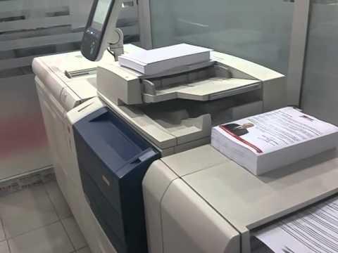 Xerox 560 ile renkli baskı