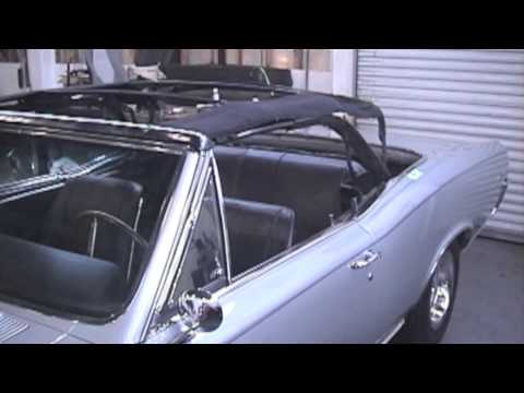 Convertible Top Repair – Pontiac GTO – Cooks Uphlostery -Redwood City