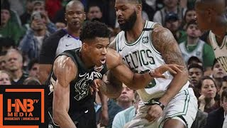 Boston Celtics vs Milwaukee Bucks Full Game Highlights / Game 2 / 2018 NBA Playoffs