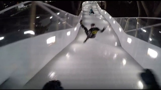 Worst POV crash in history of red bull crashed ice