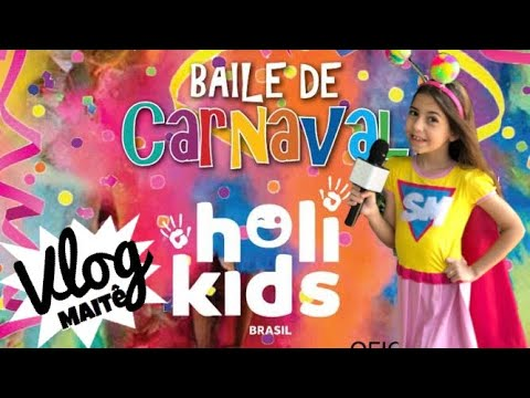Kinoplex - Carnaval HOLI KIDS BRASIL uma explosão de cores !
