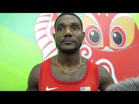 Video: Beijing 2015: Justin Gatlin on losing 200m final to Usain Bolt