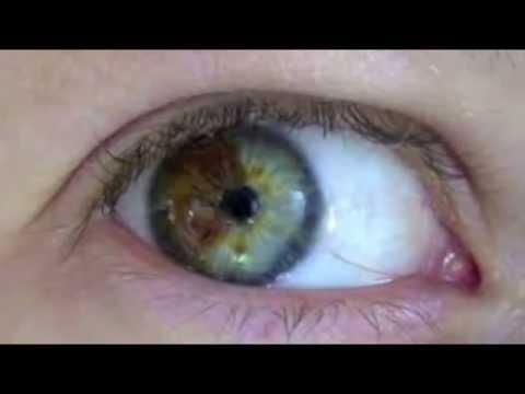 Video para cambiar tu color de ojos
