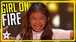 Video Angelica Hale WINS The Gold Twice on America's Got Talent | Kids Got Talent MP3, 3GP, MP4, WEBM, AVI, FLV Agustus 2019
