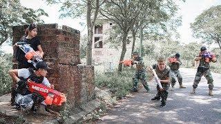 Video Nerf Guns War : Squad SEAL TEAM Fight Attack Dangerous Criminal Groups MP3, 3GP, MP4, WEBM, AVI, FLV Januari 2019