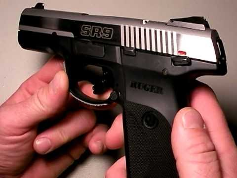Ruger SR9 pistol:  Gunning for the Glock, Part 1
