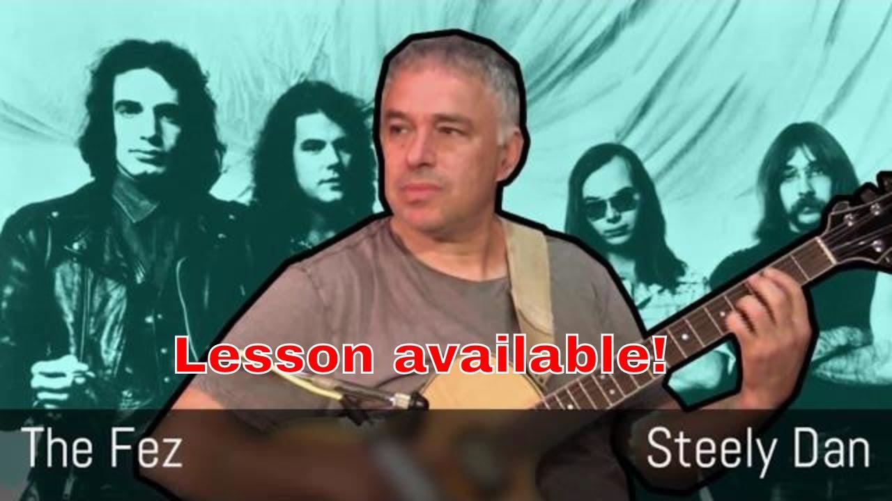 The Fez – Steely Dan – Fingerstyle Acoustic Guitar – Jake Reichbart