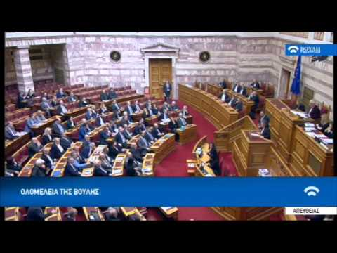 "Video - Δάκρυα στη Βουλή: ""Αντίο"" στον Μπασιάκο με ενός λεπτού σιγή και λουλούδια στα έδρανα"