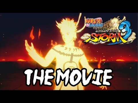 Naruto Shippuden Ultimate Ninja Storm 3 - ALL CUTSCENES [English]