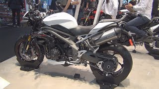 1. Triumph Speed Triple RS (2019) Exterior and Interior