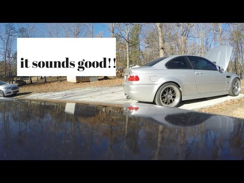 e46 m3 short throw shifter and intake boot install