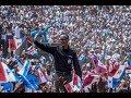 Perezidal Kagame yakomereje ibikorwa byo kwiyamamaza mu Karere ka Nyaruguru