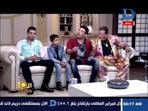 سعد الصغير يقبل يد شعبان عبد الرحيم على الهواء..ويصالحه بهذه الأغنية