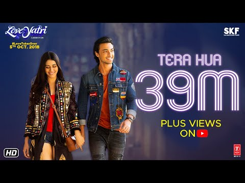 Download Atif Aslam: Tera Hua Video | Loveyatri | Aayush Sharma | Warina Hussain | Tanishk Bagchi Manoj M HD Mp4 3GP Video and MP3