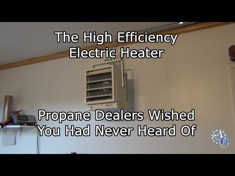 NewAir G73 Review | Wall Mounted Electric Garage Heater Installation