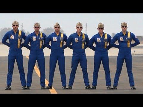 Blue Angels 3 10 18 (видео)