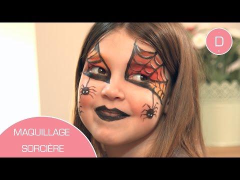 Maquillage de sorcière - Atelier Maquillage