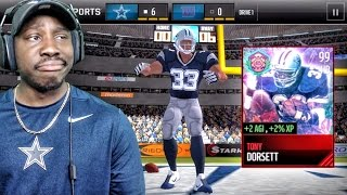 99 TONY DORSETT TAUNTING OPPONENTS & EASTER PACK OPENING! Madd...