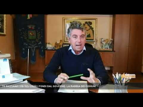 TG BASSANO | 29/03/2020 | FONDI DAL GOVERNO: LA RABBIA DEI COMUNI