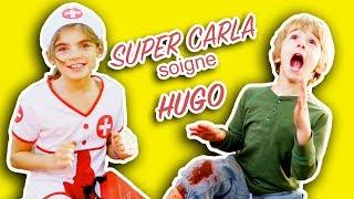 Video HUGO SE BLESSE MAIS HEUREUSEMENT SUPER CARLA VIENT LE SAUVER! ANGIE LA CRAZY SERIE MP3, 3GP, MP4, WEBM, AVI, FLV Oktober 2017