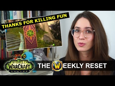 Class Mount Changes & Blizzard Apologizes For 7.2! The Weekly Reset: World Of Warcraft Legion (видео)