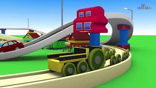 Video Train - Kids Videos For Kids - Cartoon Cartoon - Trains for Kids - Cartoon - Toy Factory Train MP3, 3GP, MP4, WEBM, AVI, FLV September 2018