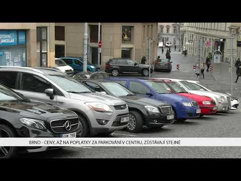 TV Brno 1: 9.1.2017 Ceny, až na poplatky za parkování v centru, zůstávají stejné.