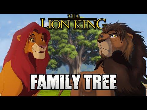 The Lion King's FAMILY TREE (Semi-Canon)
