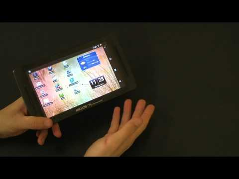 Archos Tablet 70 – tablet.bg (English Full HD Review)