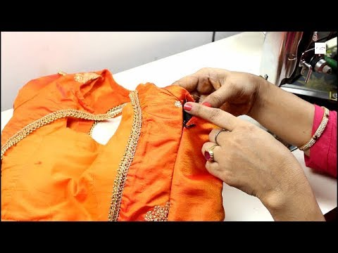Video How To Attach Side Zip In Blouse - Invisible Zipper Blouse #stitchingclass download in MP3, 3GP, MP4, WEBM, AVI, FLV January 2017