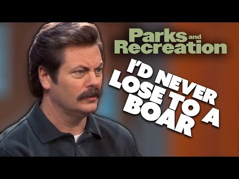 Ron Writes A Will | Parks and Recreation | Comedy Bites