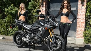 7. 2015 Yamaha FJ-09 First Look - MotoUSA