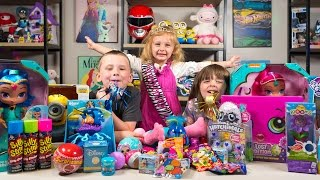HUGE Happy Birthday Surprise Presents for Chloe Girl Toys Hatchimals My Little Pony Kinder Playtime  Today on Kinder Playtime we are celebrating a Happy Birthday with Chloe's 3rd birthday by opening Surprise Presents!  Her Surprise Presents range from Hatchimals Colleggtibles to Shopkins Lost Edition to Shimmer and Shine to Finding Dory Bubble machine to Minions to Blinds and Surprise Eggs!  Chloe had a fantastic birthday and loved opening her Surprise Birthday Presents here on Kinder Playtime!Toys featured in this Happy Birthday Surprise Presents video!Shimmer and Shine Dolls Wish & Spin Shimmer and ShineTumblin' Stuart Minions ToyMy Little Pony Blind BagsShopkins Lost Edition Surprise PresentTrolli Candy Surprise EggHatchimals Colleggtibles 5 Pack Surprise EggsMagic Blooms Dancing Flower3 cans of Silly StringYowie Chocolate Surprise EggsMinions Mineez Surprise EggTrolls Poppy Doll from Build a BearFinding Dory Bubble MachineMonster High Fashems Surprise EggsCrossy Road Disney Figures Surprise EggsFinding Dory Mashems Surprise EggKitty Club Blind BagsLittle Woodsies Series 2 Surprise EggsCrocodile Dentist Surprise GameMy Little Pony Figures Discord and Nightmare MoonLOL Surprise EggTrolls Series 1 Blind BagPJ Masks Surprise Blind BagDisney Funko Mini Figure Blind BoxFlipaZoo Blind BagsSurprizamals Surprise EggDisney Princess Series 7 Figural Keyring Blind BagsFinding Dory Figural Keyring Blind Bagand a Disney Frozen Huffy Bicycle from Jacob!We had a great time celebrating Chloe's birthday today!More Fun Toy Videos by Kinder Playtime!HUGE Num Noms Surprise Eggs Opening Toy Party Fun Cute Toys for Girls Kinder Playtimehttps://www.youtube.com/watch?v=BMgfFC9-W0wSurprise Kinder Playtime Playhouse Fun Kids Play on Swings Lots of Slides Friend Party Swingsethttps://www.youtube.com/watch?v=ljVcsoK-NCYHUGE Elena of Avalor Surprise Present Blind Bags Disney Princess Toys for Girls Kinder Playtimehttps://www.youtube.com/watch?v=zdk0LcYagRIHUGE Shopkins Surprise Present Season 7 Surprise Eggs Blind Bags Toys for Girls Kinder Playtimehttps://www.youtube.com/watch?v=r5VlShZf85gHUGE Disney Princess Surprise Present Blind Bags My Little Pony Toys for Girls Kinder Playtimehttps://www.youtube.com/watch?v=HzUnGE-9IRkHUGE Peppa Pig Surprise Present Blind Bags My Little Pony Toys for Girls Kinder Playtimehttps://www.youtube.com/watch?v=hP_MAGJT0qgHUGE Elsa Frozen Surprise Present from Santa Claus Christmas Girl Toys Blind Bags Kinder Playtimehttps://www.youtube.com/watch?v=0YLB6YmQSl4HUGE Christmas Stocking Surprise Toys Shimmer and Shine My Little Pony Girls Toys Kinder Playtimehttps://www.youtube.com/watch?v=5VyhTJPAbPsHUGE Surprise Penguin Slide Surprise Eggs Toys for Girls Trolls My Little Pony Kinder Playtimehttps://www.youtube.com/watch?v=-_gzl6LeWlQHUGE Frozen Surprise Bucket Disney Princess Surprise Toys for Girls Hatchimals Kinder Playtimehttps://www.youtube.com/watch?v=I7U6RRUdD0sHUGE Trolls Movie Surprise Car Toy Surprise Eggs Girl Toys Slime Baff Dreamworks Kinder Playtimehttps://www.youtube.com/watch?v=DCwWMPH9daoHUGE Shimmer and Shine Magic Surprise Toy Chest My Little Pony Shopkins Frozen Kinder Playtimehttps://www.youtube.com/watch?v=YoSO3TJ-4AEHUGE FINDING DORY SURPRISE POOL Toy Surprise Eggs Disney Toys Boy Toys Girl Toys Kinder Playtimehttps://www.youtube.com/watch?v=dJV9lkevzgoHuge Mashems & Fashems Surprise Toy Finding Dory Ninja Turtles Batman Paw Patrol MLP Kinder Playtimehttps://www.youtube.com/watch?v=I3nj3BCvjxoHUGE Finding Dory Surprise Box & Toy Bag Elmo Toys Shopkins Blind Bags Disney Toys Kinder Playtimehttps://www.youtube.com/watch?v=W0g7IPl3nHoFrozen Surprise Wagon My Little Pony Shopkins Funko Mystery Blind Bags Disney Toys Kinder Playtimehttps://www.youtube.com/watch?v=q-XhzJxKw2gHUGE Pink Girl Surprise Egg Surprise Toys Bunny Surprise Toy Shopkins My Little Pony Kinder Playtimehttps://www.youtube.com/watch?v=Gq67sl876LEHUGE Neon Star Surprise Toys Suitcase Shopkins Barbie Disney Unicorno Fun Girls Toys Kinder Playtimehttps://www.youtube.com/watch?v=kghBHl6M9toHUGE Frozen Backpack Surprise Toys Disney Princess Elsa Anna Fashems My Little Pony Kinder Playtimehttps://www.youtube.com/watch?v=eLU294A23Cw