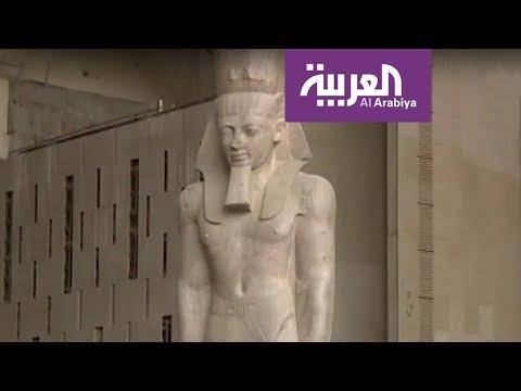 العرب اليوم - عربة توت عنخ آمون إلى المتحف المصري الكبير