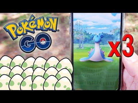 ¡RECOMPENSA de LAPRAS x3 y ABRIENDO MUCHOS HUEVOS del EVENTO ACUÁTICO en Pokémon GO! [Keibron]