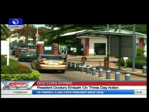 Doctors Strike: Resident Doctors Embark On Three Days Action