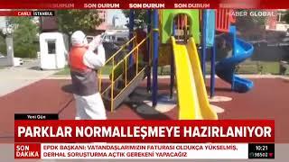 Gaziosmanpaşa'daki Parkları İlaçlama Çalışmaları - Haber Global