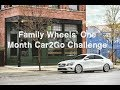 Can car sharing work for a family? A one month Car2Go challenge