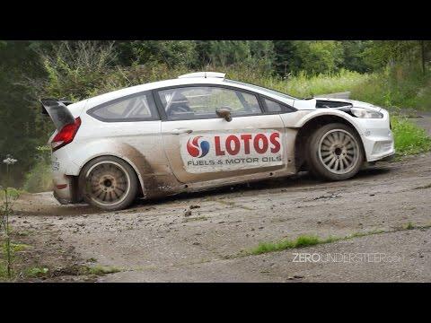 Robert Kubica | FLATOUT | Tests WRC Germany 2014
