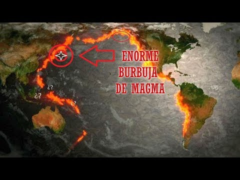 Aparece GRAN Burbuja de Magma ¿Qué diablos pasa en el Cinturón de Fuego del Pacífico? (видео)