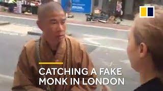 Video Fake monk: Buddhist crusader catches one on London street MP3, 3GP, MP4, WEBM, AVI, FLV April 2019