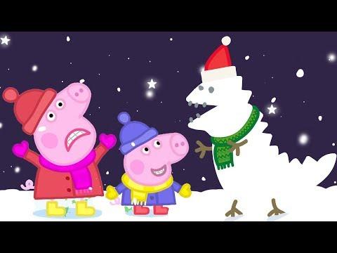 Peppa Pig en Español Episodios completos  Invierno  Pepa la cerdita