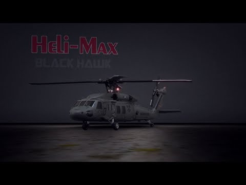 Watch Heli-Max Black Hawk 1/43 4-Blade Heli TxR SLT