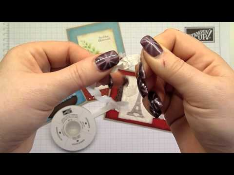 Tutorial - Band raffen - Stampin' Up!