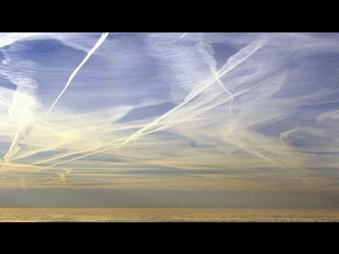 CHEMTRAILS - Have you noticed more planes flying overhead in your community that leave trails behind them in the sky? These patterns are the result of