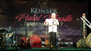 Video Puisi Ujung Tahun 2017, Bupati Sumenep Dr. KH. A. Busyro Karim,M.Si MP3, 3GP, MP4, WEBM, AVI, FLV Mei 2019